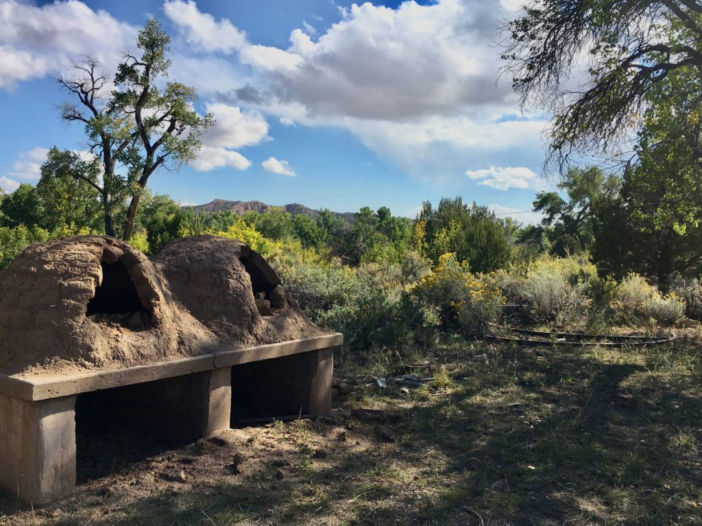 Legendary Healing Waters of Ojo Caliente horno oven