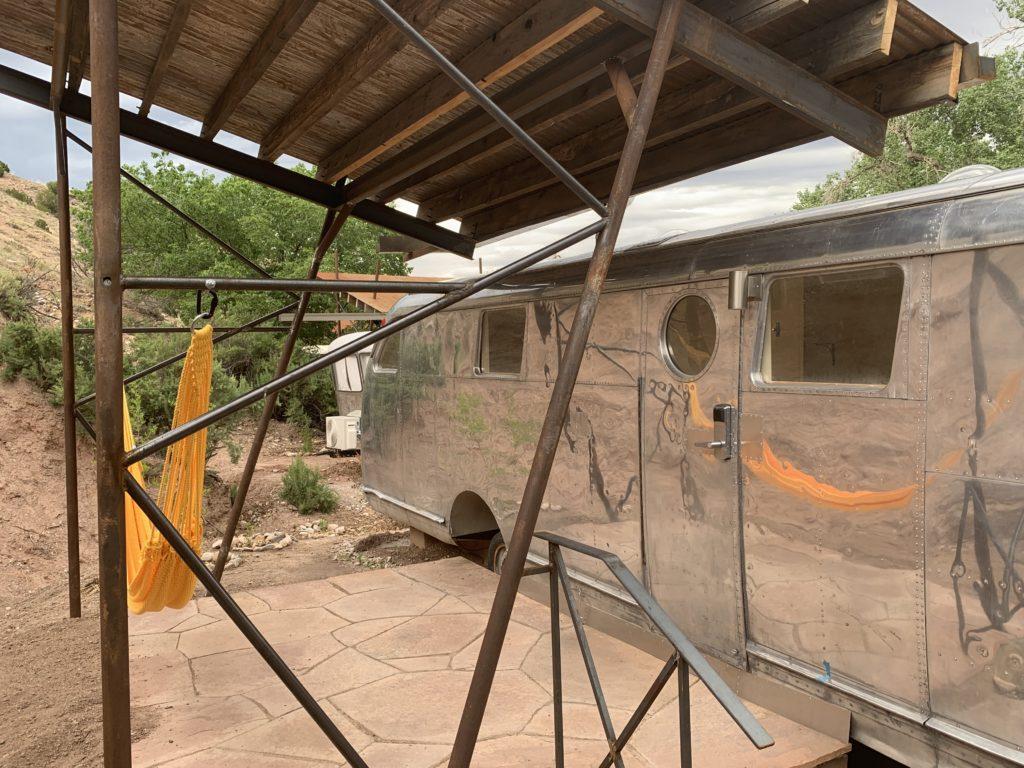 Legendary Healing Waters of Ojo Caliente airstream rental