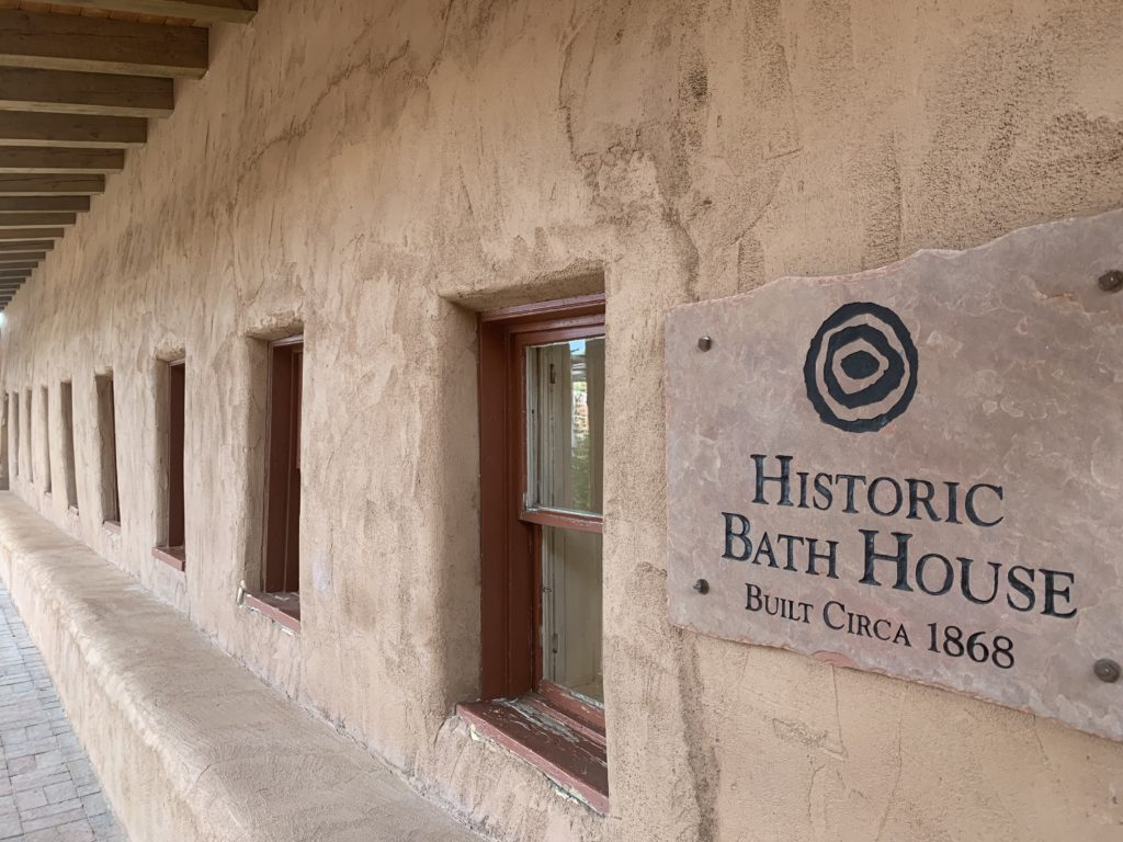 Legendary Healing Waters of Ojo Caliente historic bathhouse