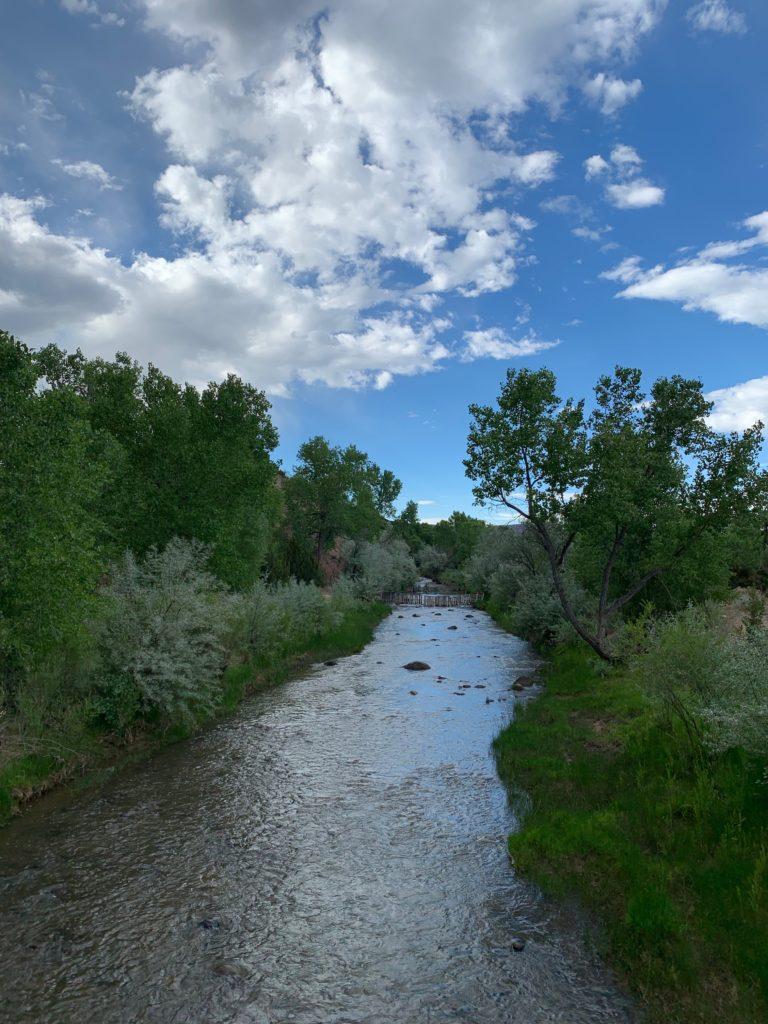 Legendary Healing Waters of Ojo Caliente river
