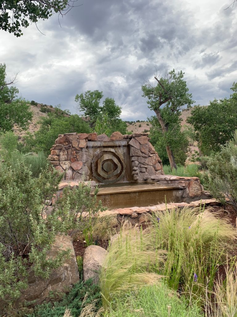 Legendary Healing Waters of Ojo Caliente entrance sign
